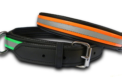 Horse High Line Collar-Orange (Adjustable S-M-L)