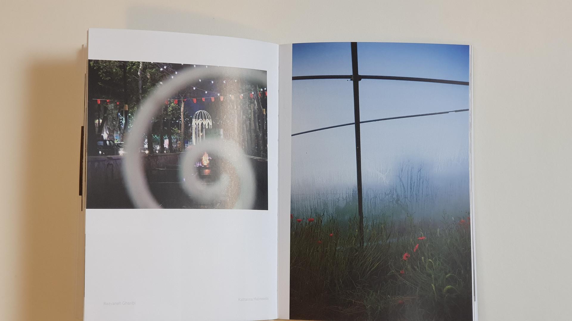 Titelbilder Rezvaneh Gharibi und Katharina Malinowski