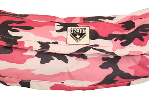 Cantle Bag -Pink Camo