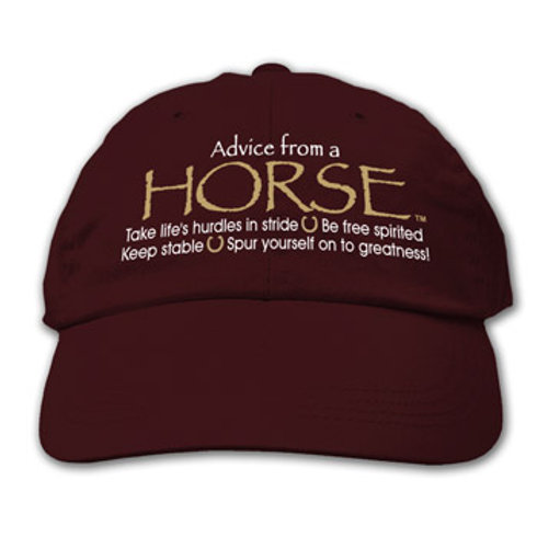 Advise From A Horse Ball Cap
