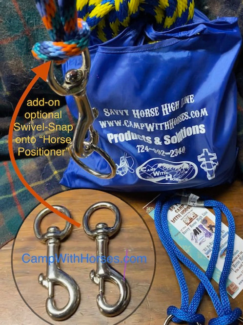 """Swivel Solution for Horse Positioner (Snap 3"""")"""