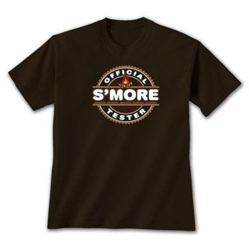 """Official S'More Tester"" T-Shirt"