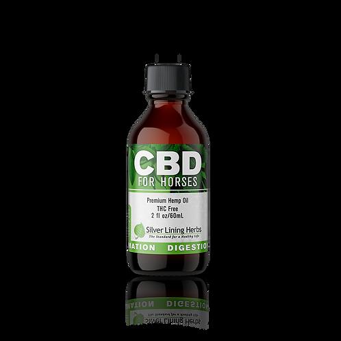 CBD Oil, Horse Premium THC Free (SilverLiningHerbs)