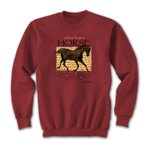 Advise From A Horse Sweatshirt
