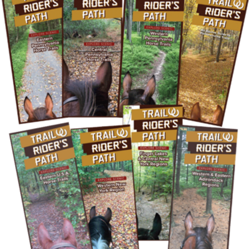 8-Collection TRP Equestrian Trail Maps