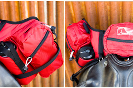 Deluxe Pommel Stowaway (front) Saddle Pack