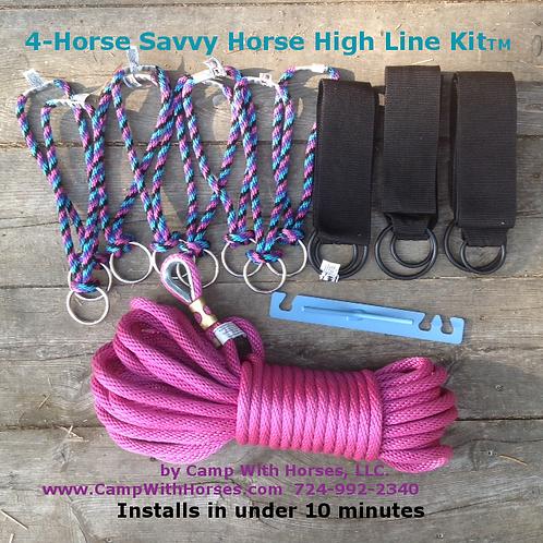 SHHL 4-Horse Kit (100' rope)