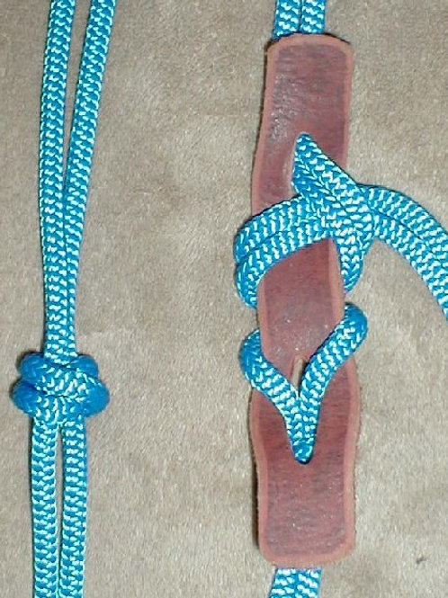"""Halter-Hold-It"" Strap/Leather SINGLE/Brown plain"