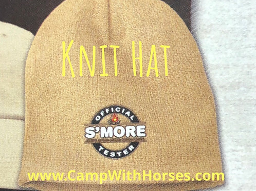 Official S'More Tester-Knit Hat