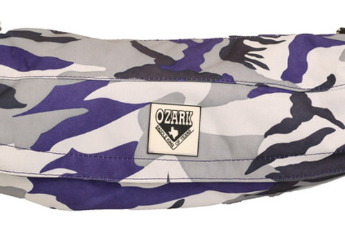 Cantle Bag -Purple Camo