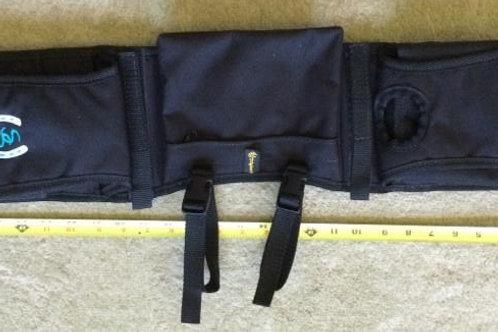 Pommel Bags w/Secure-On Straps Black