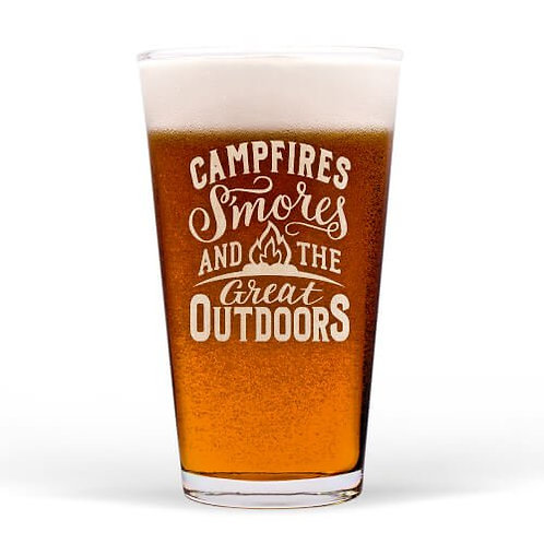 """Great Outdoors"" Guinness Glass"