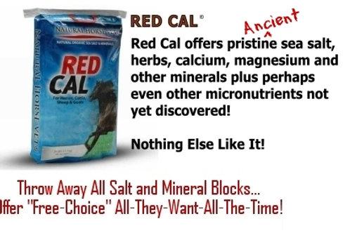 Hi-Mag RedCal mineral/salt supplement 25 lb.