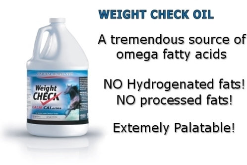 "Weight Check Oil ""good fats"""