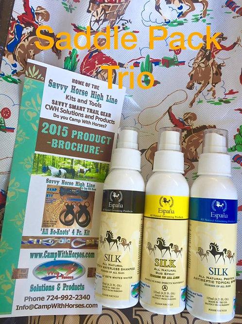 EspanaSilk Travel/Horse & Rider/Camper Trio Pk