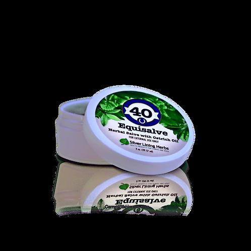 #40 EquiSalve Herbal w/Ostrich Oil