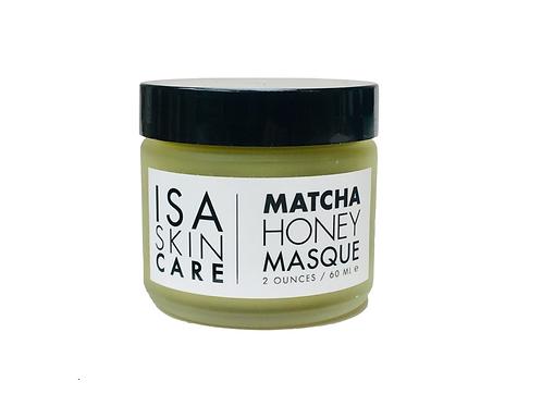 Matcha Honey Mask
