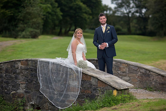 Gower Wedding at The Gower Golf Club, Swansea.