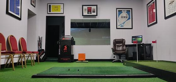 Gower Golf Studio Simulator in Swansea