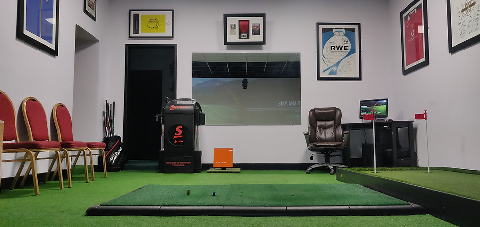 Main Website Image The Gower Golf Studio, Swansea.