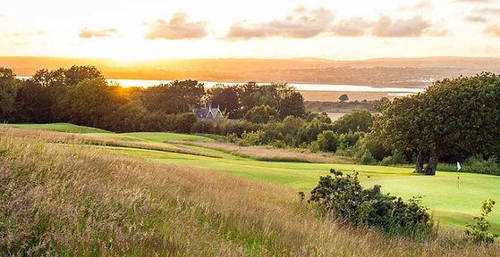 2nd Hole The Gower Golf Club, Swansea.