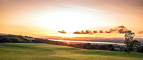 Hole 6 at The Gower Golf Club, Swansea.