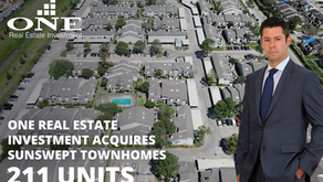 One Real Estate Investment acquires Sunswept Townhomes