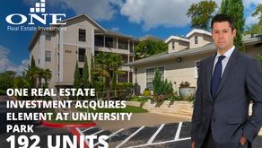 One Real Estate Investment Acquires Element At University Park