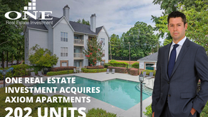One Real Estate Investment acquires Axiom Apartments