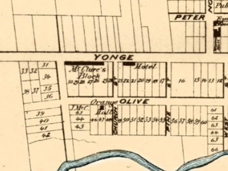 Hotels and Inns in Holland Landing in the 19th Century