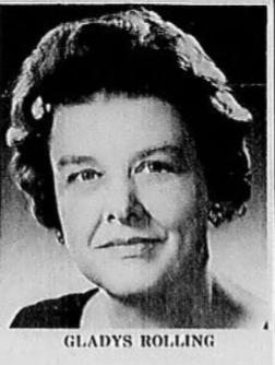 International Women's Month Profile: Gladys Rolling