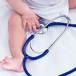 Bébé avec Stethoscope