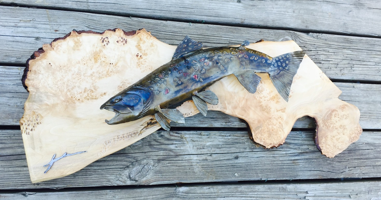 Brown Trout Wall Sculpture