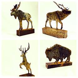 Desktop Animal Sculptures