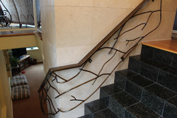 Handrail with Branch Detail