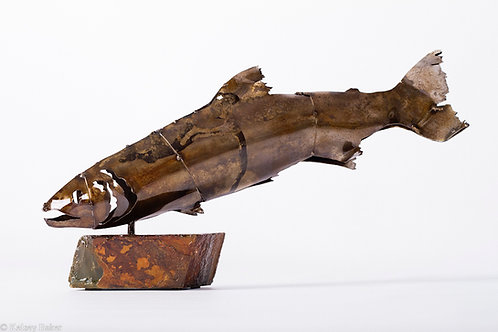 Large Classic Fish Sculpture