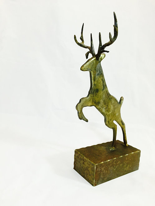 Desktop Deer Sculpture