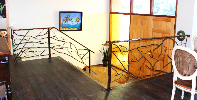 Branch Style Stair Railings