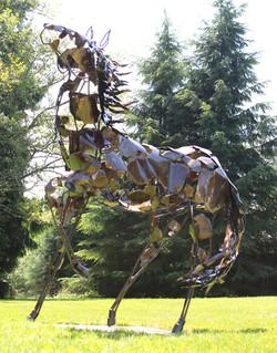 Life Size Horse Sculpture