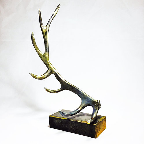 Desktop Elk (Right) Antler Sculpture