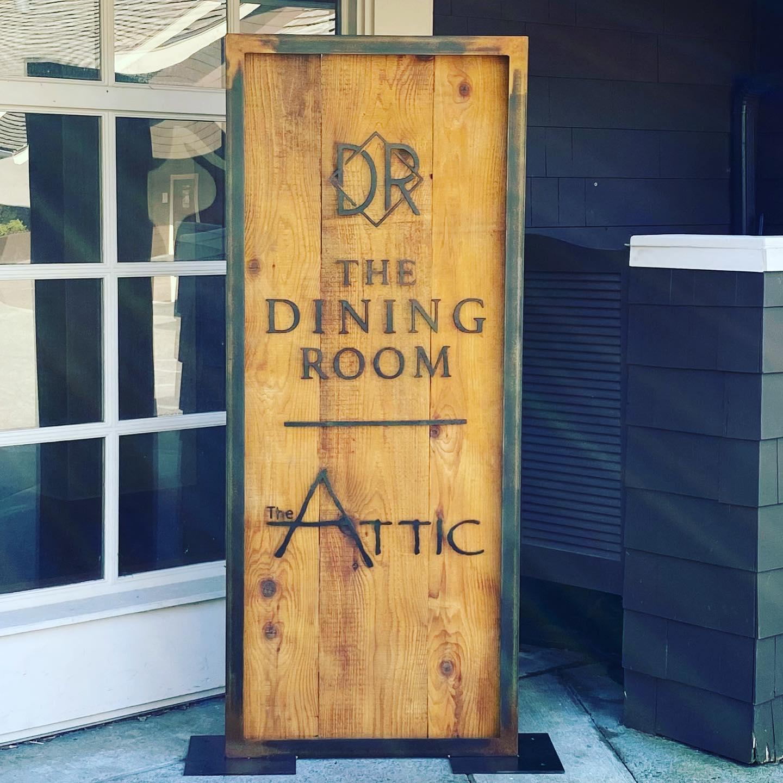 Restaurant Sign for Salish Lodge