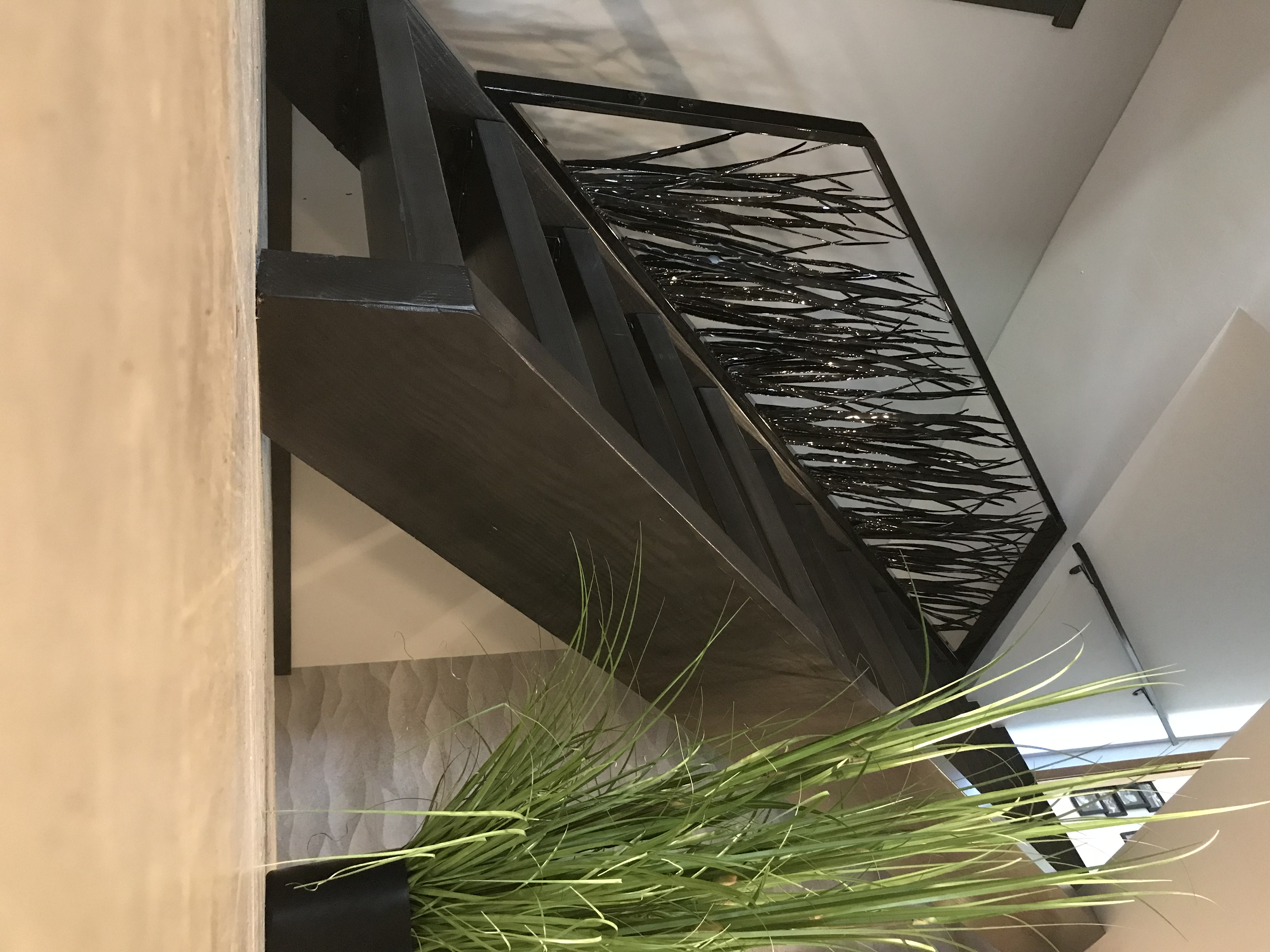 Steel Grass Stair Railing