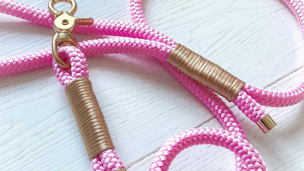 Pink Peony Satin Rope