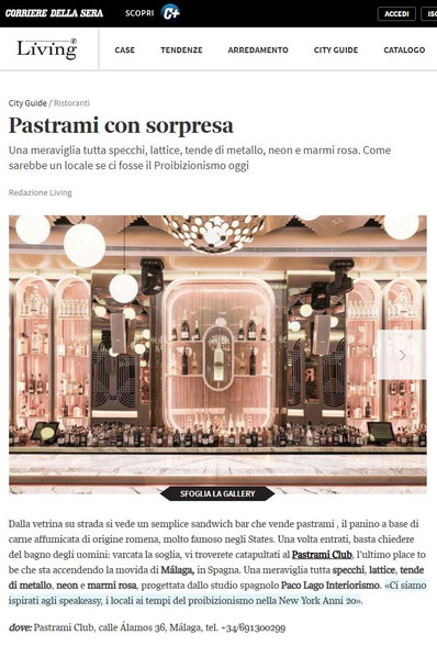 CORRIERE (LIVING)