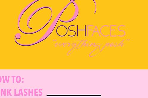 PoshFaces Mink Lashes 101 E-BOOK