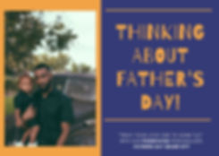 Blue and Orange Happy Fathers Day Card.j