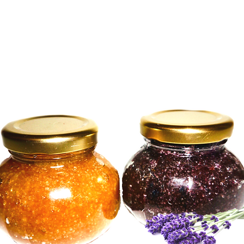 Mother and Daughter Lavender & Coconut Oil Body Scrub Set