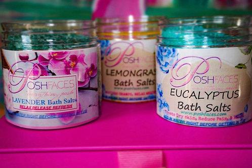 Posh Faces Bath Salts 4 oz Set