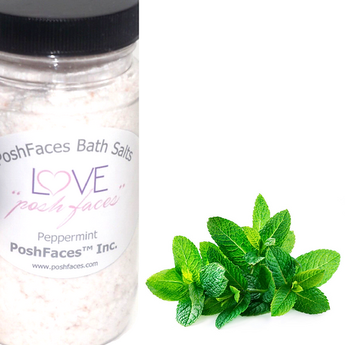 Posh Bath Salts 8 oz