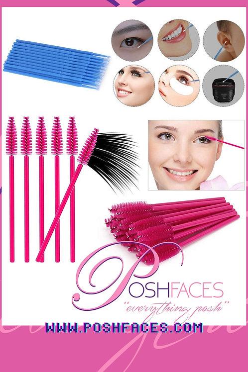 100 Mascara Spool & 50 Lash Cleaners